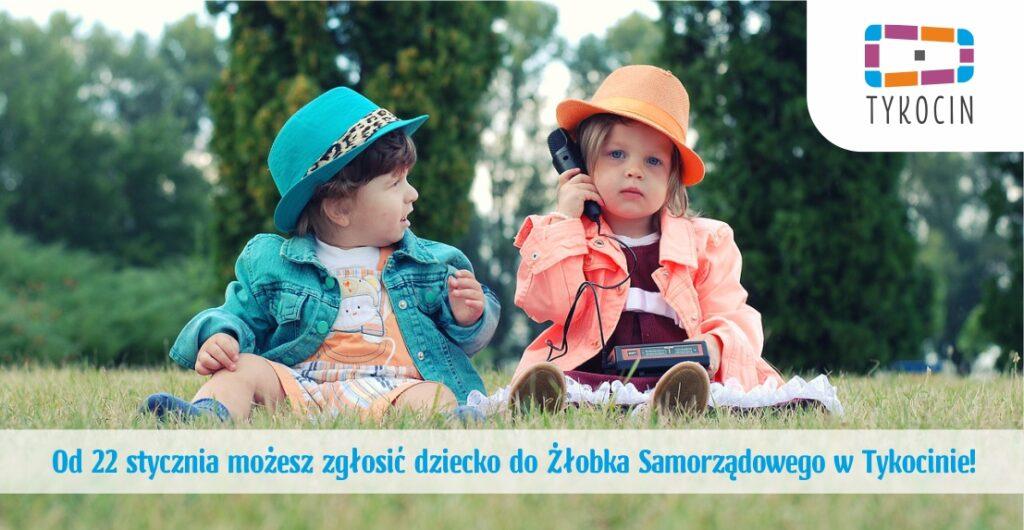 nabór dzieci do żłobka w Tykocinie - od 22 stycznia 2021