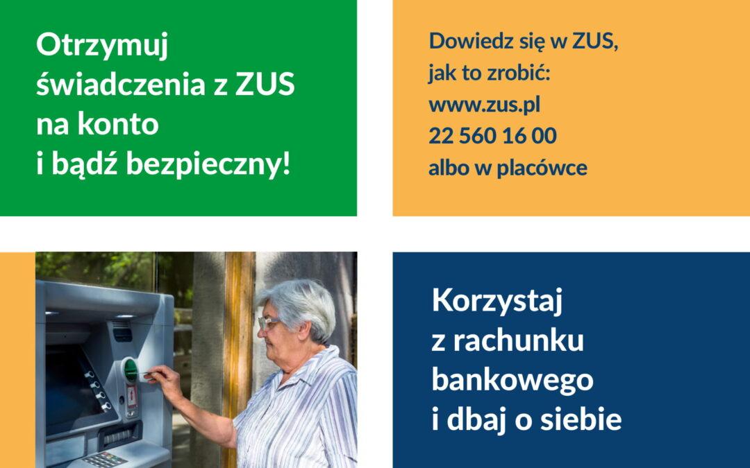 korzystaj z rachunku bankowego